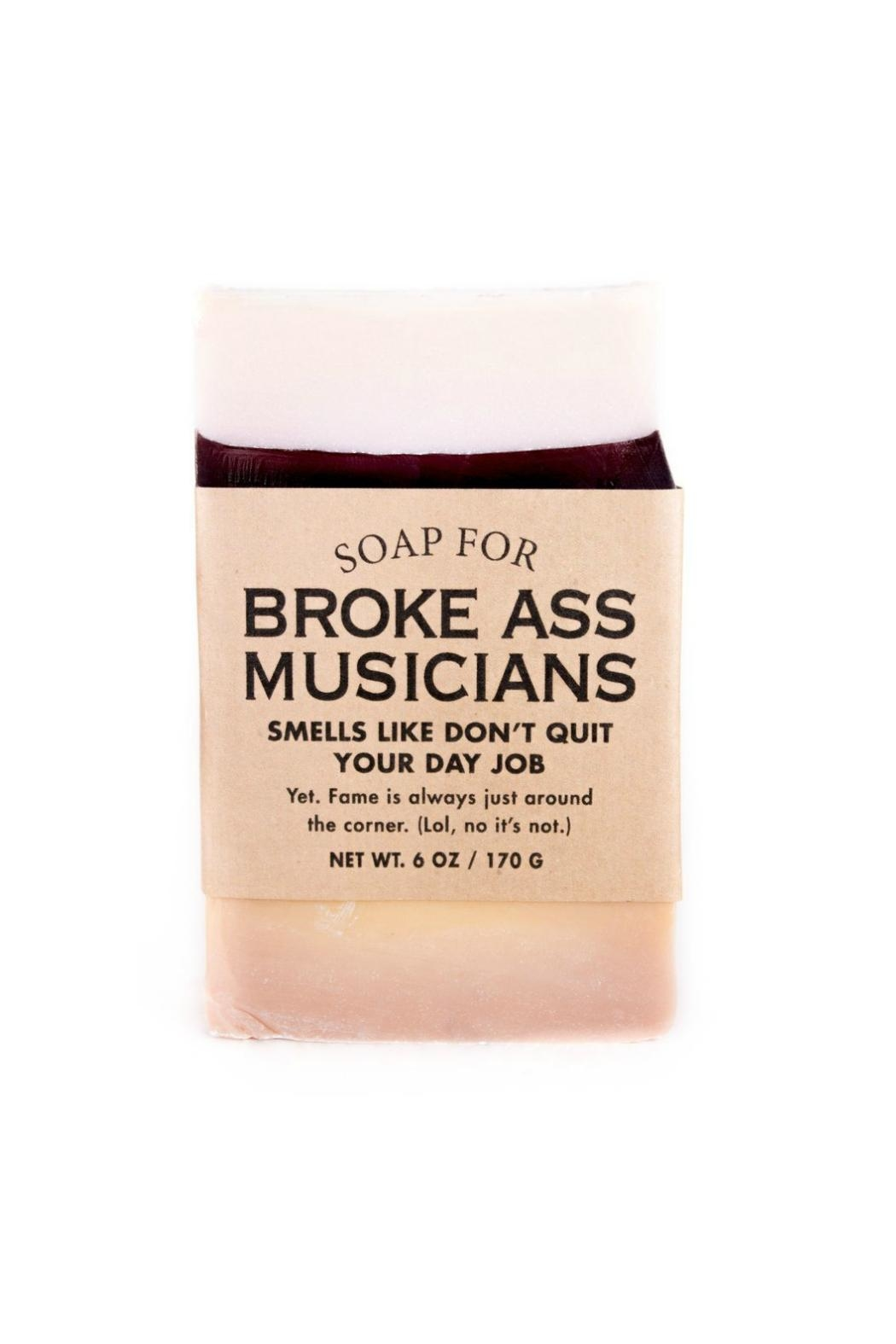 WHISKEY RIVER SOAP CO. Broke Musician Soap - Main Image