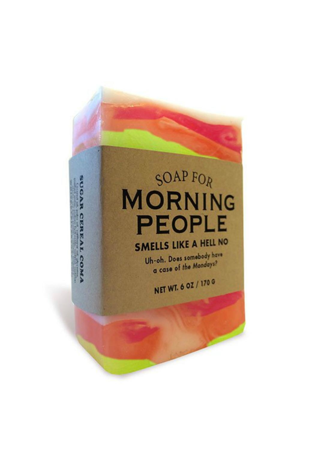 WHISKEY RIVER SOAP CO. Morning People Soap - Main Image