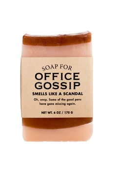 WHISKEY RIVER SOAP CO. Office Gossip Soap - Alternate List Image
