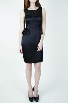 Whistle and Wolf Black Peplum Dress - Product List Image