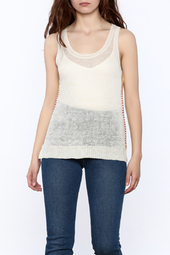 Shoptiques Product: Sheer Sleeveless Top