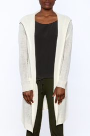 White + Warren White Cashmere Cardigan - Side cropped