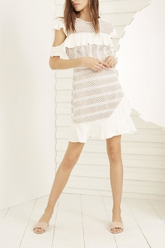 Shoptiques Product: White A-Line Dress