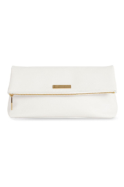 Katie Loxton White Alise Clutch - Product Mini Image