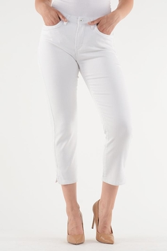Lois Jeans White Ankle Jean - Product List Image