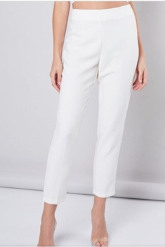 Do & Be White Ankle Pants - Alternate List Image
