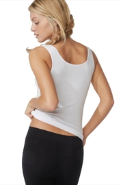 Boody White Bamboo Tank - Front full body