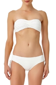 Anne Cole White Bandeau Top - Product Mini Image
