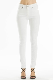 KanCan White Basic Jeans - Front cropped