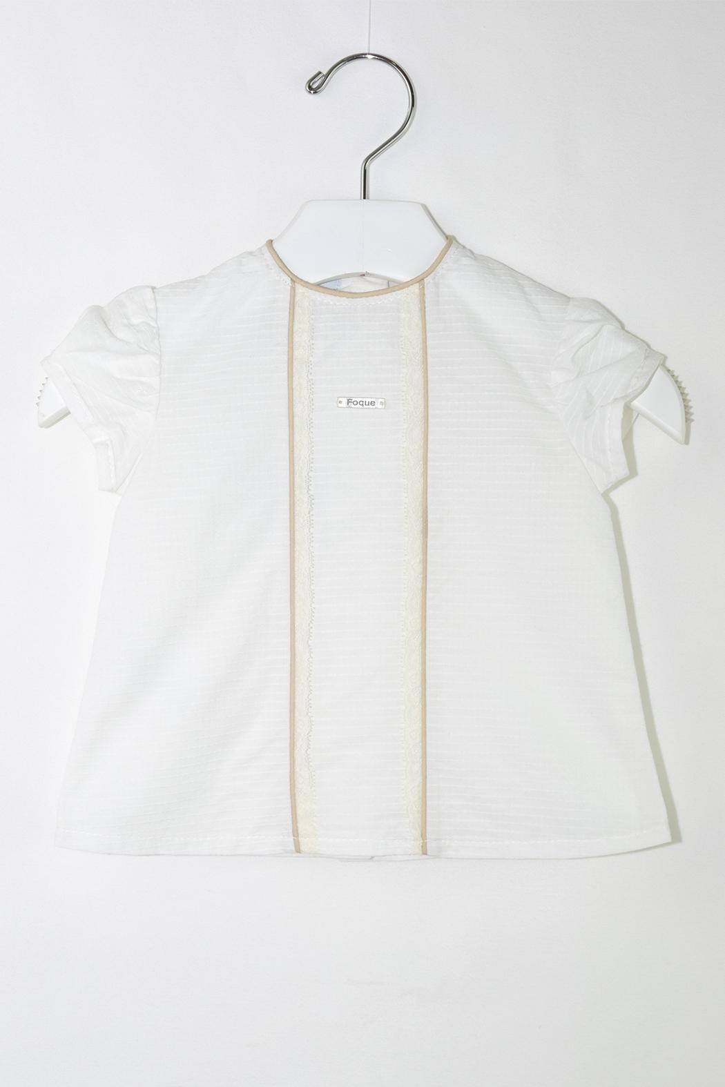 Foque White & Beige Baptism - Side Cropped Image