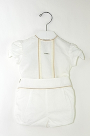 Foque White & Beige Baptism - Front cropped