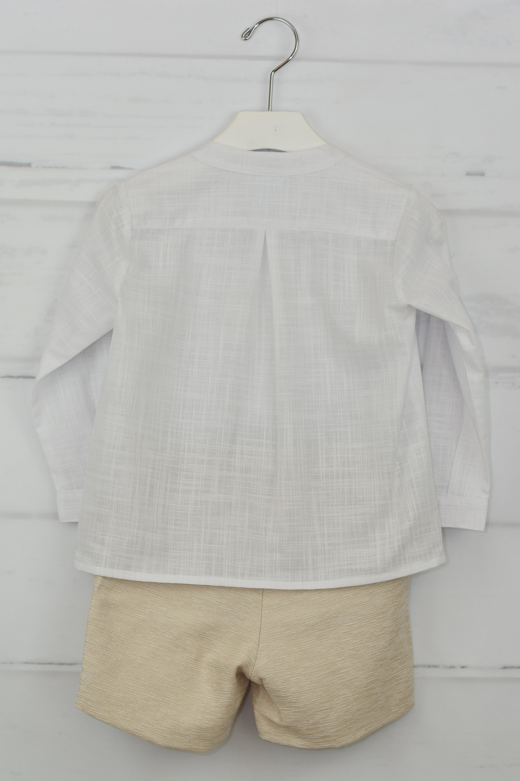 Granlei 1980 White & Beige Outfit - Side Cropped Image