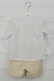 Granlei 1980 White & Beige Outfit - Side cropped