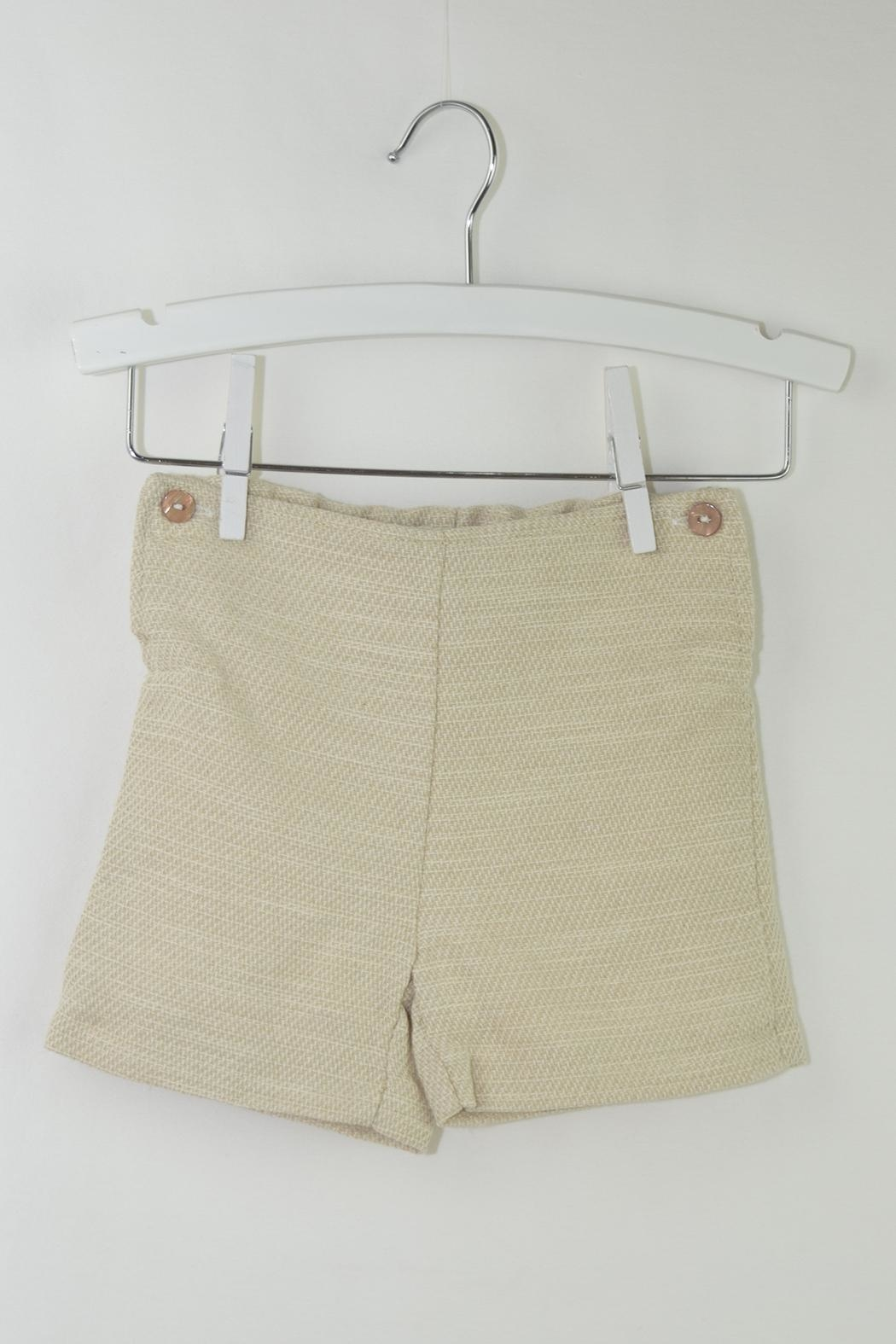Foque White & Beige Outfit - Side Cropped Image
