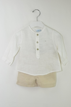 Foque White & Beige Outfit - Product List Image