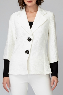 Joseph Ribkoff USA Inc. White + Black Jacket - Product List Image