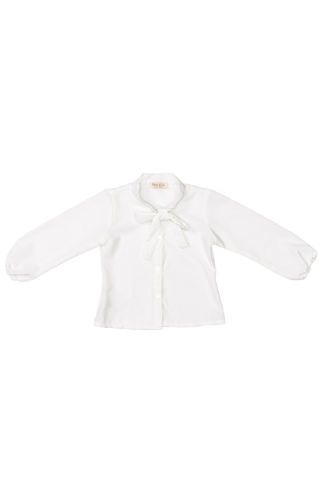 Malvi & Co. White Blouse. - Main Image