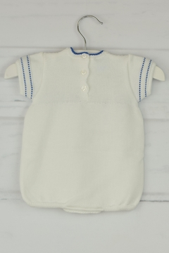Granlei 1980 White & Blue Onesie - Alternate List Image