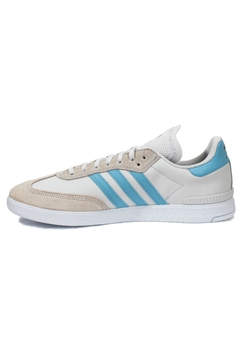 adidas White Blue Samba - Alternate List Image