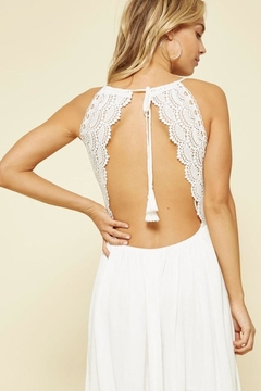 Promesa White Boho Maxi - Alternate List Image
