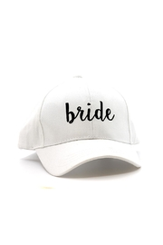 CC Beanie White Bride Hat - Product Mini Image