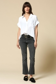 By Together White Button Blouse - Product Mini Image