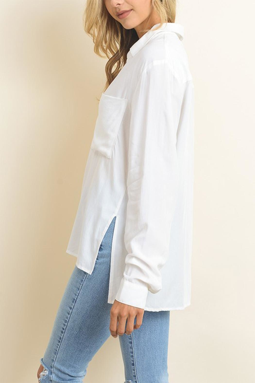 dress forum White Button Down - Front Full Image