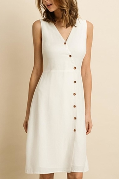 dress forum White Button-Down Midi - Product List Image