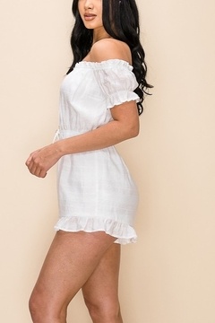 privy White Button Romper - Alternate List Image