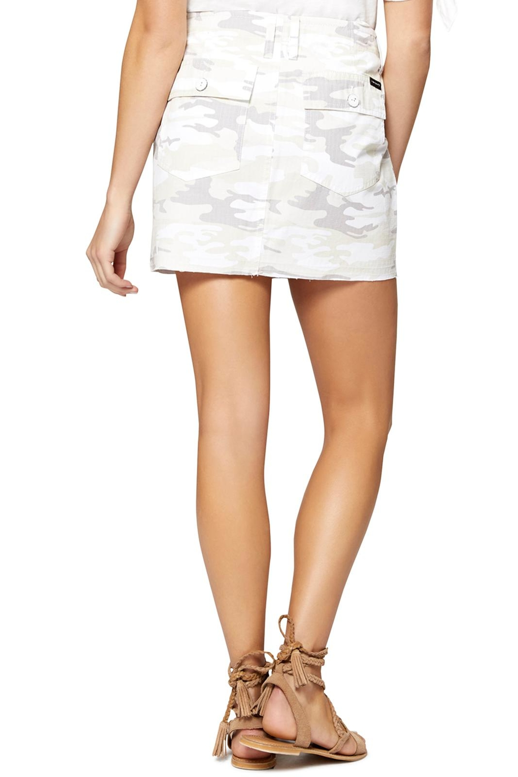Sanctuary White Camo Skirt - Front Full Image