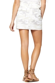 Sanctuary White Camo Skirt - Front full body