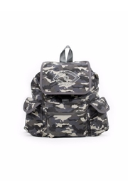 Quilted Koala White Camoflage Backpack - Product Mini Image