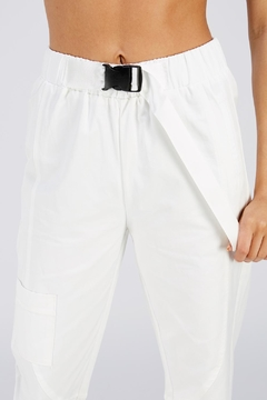 On Twelfth White Cargo Pants - Alternate List Image