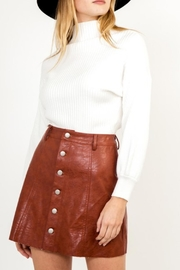 Olivaceous White Cashmere Sweater - Product Mini Image