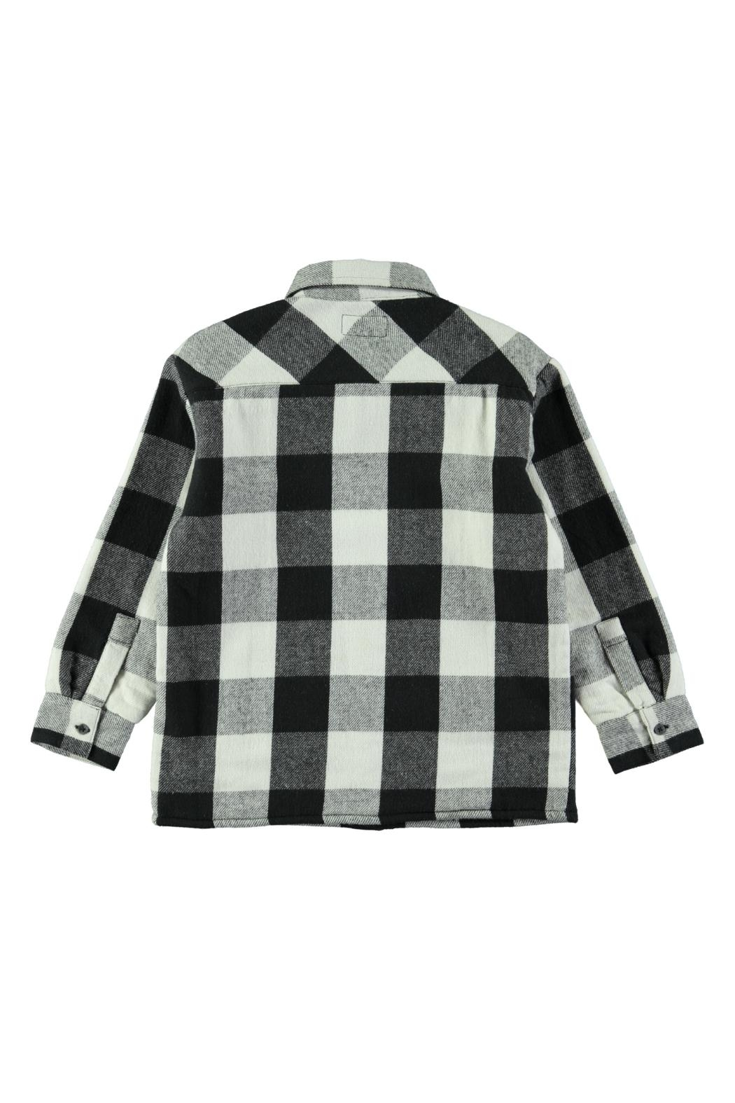 Molo White Check Shirt - Side Cropped Image