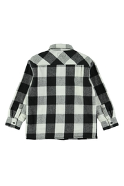 Molo White Check Shirt - Side cropped