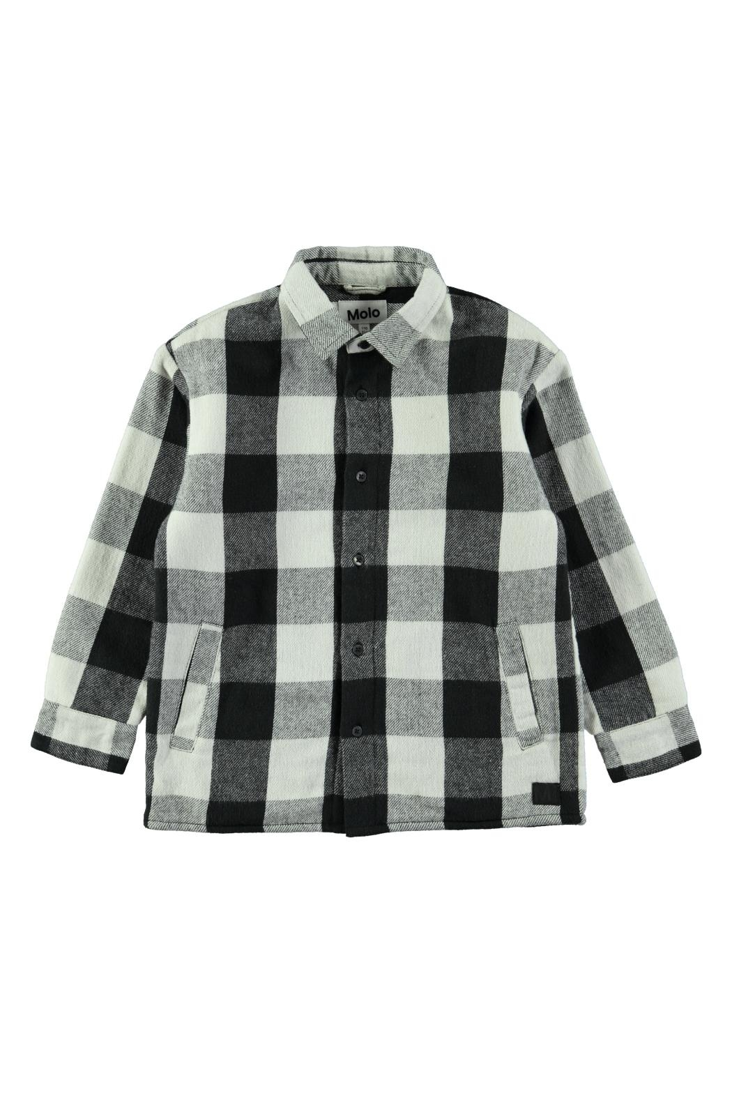 Molo White Check Shirt - Main Image