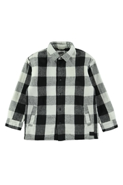 Molo White Check Shirt - Front cropped