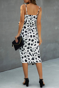 ePretty White Cheetah Dress - Alternate List Image