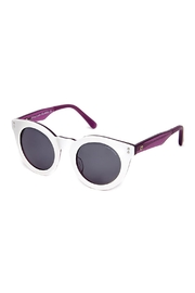 ZooBug White Chic Sunglasses - Front cropped