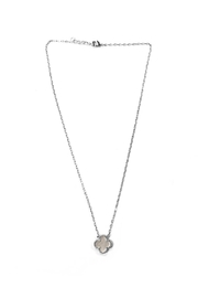 Lets Accessorize White Clover Necklace - Product Mini Image