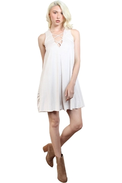 Rock Etiquette White Cocktail  Dress - Alternate List Image