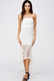 Blithe  White Crochet Dress - Product Mini Image