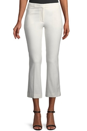 Theory White Cropped Pants - Product Mini Image