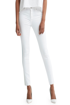 Bianco Jeans White Cropped Skinny Denim - Product List Image