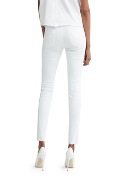 Bianco Jeans White Cropped Skinny Denim - Alternate List Image