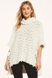 z supply White Crow Eunice Sweater-Cloud Dancer - Front cropped