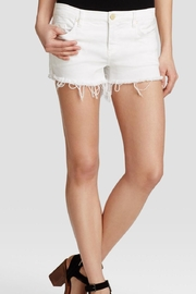 BlankNYC White Cut-Off Shorts - Product Mini Image