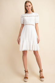 Gilli  White Cutout Dress - Front cropped