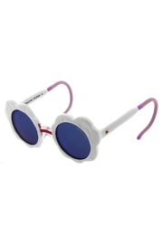 ZooBug White Daisy Sunglasses - Front cropped